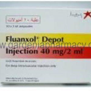 FLUANXOL DEPOT 40MG 10 AMP