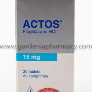 ACTOS 15 MG 30 TAB