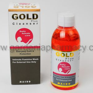 GOLD PLUS CLEANSER 250ML