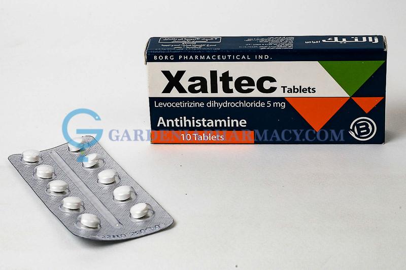 XALTEC 5 MG 10 TAB