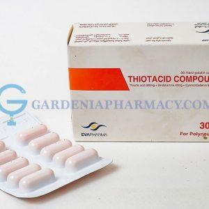 THIOTACID COMP 300 30CAP