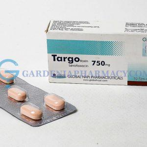 TARGOFLOXIN 750 MG 10 TAB