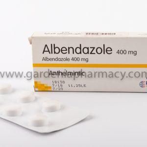 ألبيندازول 400 مجم 6 أقراص