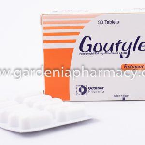 GOUTYLESS 500MG 30 TAB