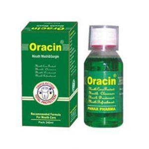 ORACIN MOUTHWASH 120ML