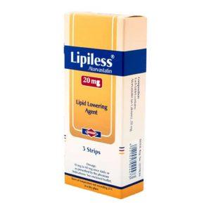 LIPILESS 20 MG 21 TAB