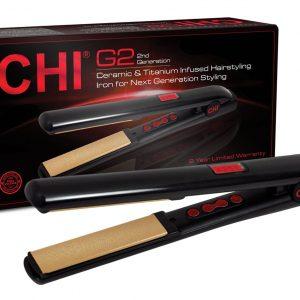 CHI G2 Ceramic and Titanium Hair Styling Iron|تشى مكواة G2 من السيراميك والتيتانيوم