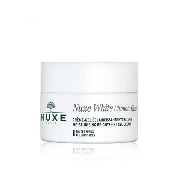 NUXE WHITE WHITENING GLOW CREAM GEL