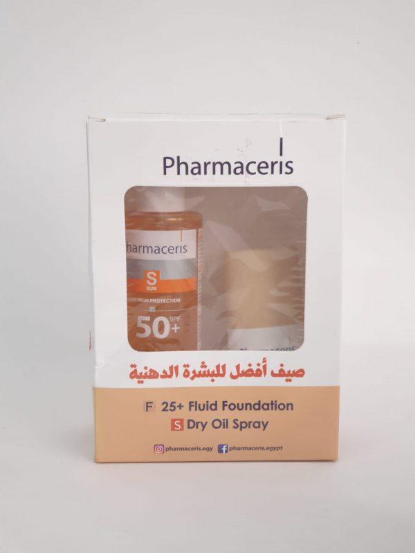 Pharmaceris fluid foundation dry oil spray 1