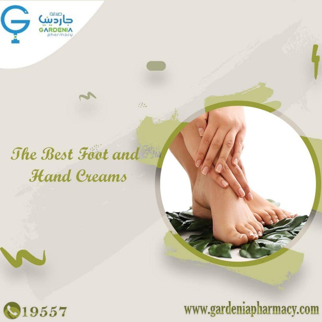 hand and foot creams