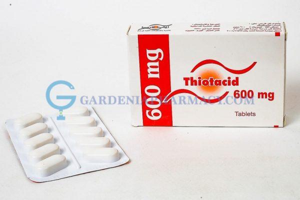 THIOTACID 600MG TAB