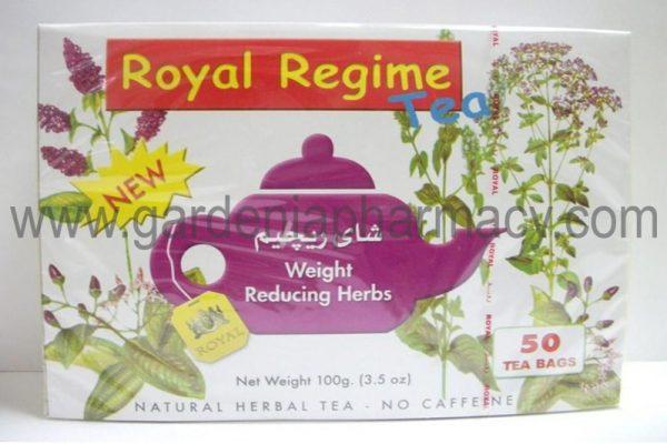 ROYAL TEA REGIME 50 SACHET