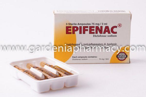 EPIFENAC 75 MG 3 AMP