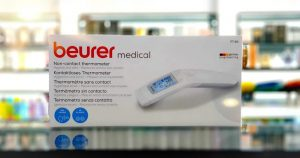 Beurer non contact thermometer