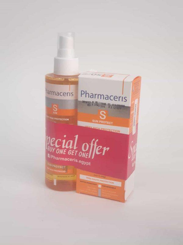 Pharmaceris DRY OIL SPF + Sun Face Cream